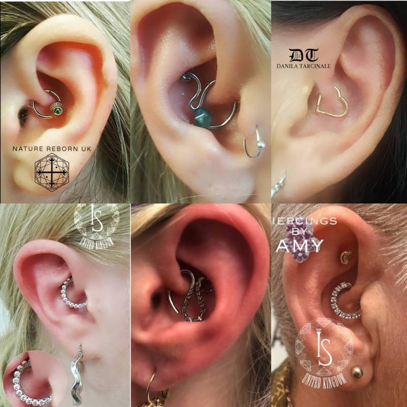 Can The Daith Piercing Help Migraines Pictures Of Lily